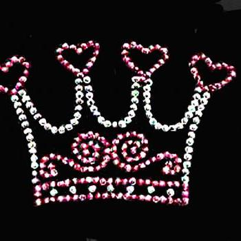 Crowns, Princess & Spoiled Rotten in Rhinestones