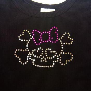 Girl Tank Tops- You pick the Tank & Bling